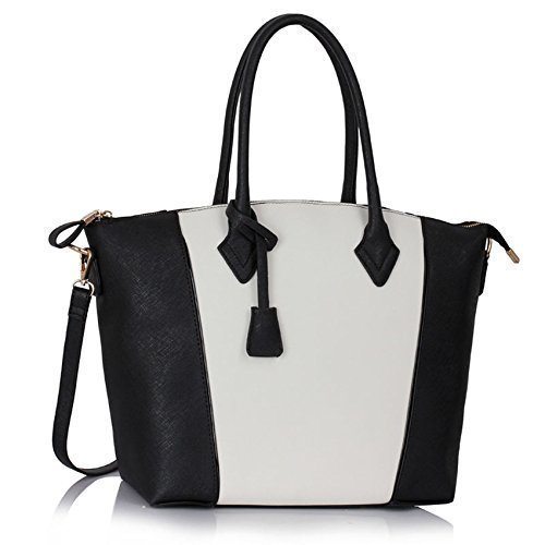 Ladies Grab Shoulder Bags Womens Large Designer Handbags Tote Shoulder Faux Leather Fashion Bags