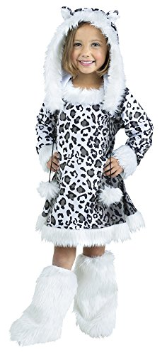 Fun World Costumes Baby Girl's Snow Leopard Toddler Costume