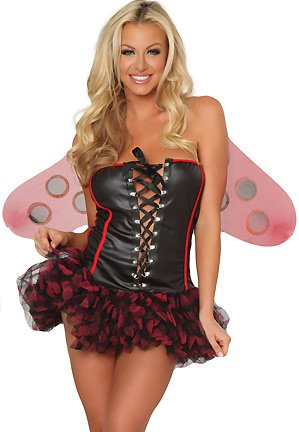 Amazon.com: Roma Costume Women's Busty Lady Bug Sexy Lady Bug Costumes