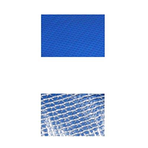 Randabdeckung Federabdeckung Randschutz Abdeckung blau für Trampolin Ø 366 cm - Ø 370 cm -