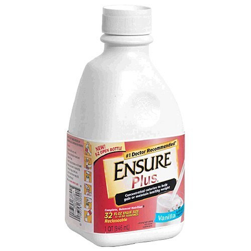 Ensure Plus Vanilla Bottles 6 X 32Oz Case