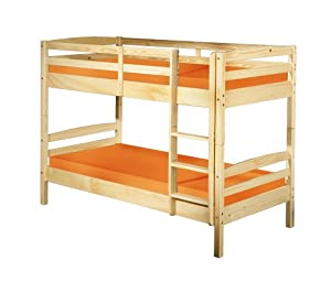 kinderzimmerm bel doppelstockbett 90x190 holz jonas k che haushalt. Black Bedroom Furniture Sets. Home Design Ideas