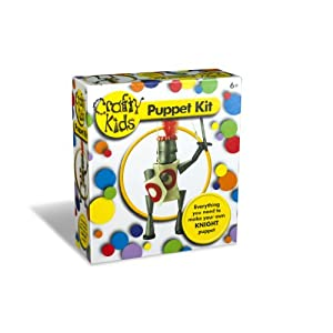 Crafty Kids Puppet Kit - Everything You Need to Make Your Own Knight Puppet by Paul Lamond Games