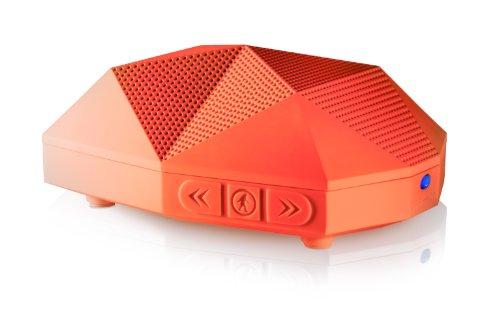 Outdoor Tech OT1800 Turtle Shell 2.0 - Rugged Water-Resistant Wireless Bluetooth Hi-Fi Speaker (Orange)
