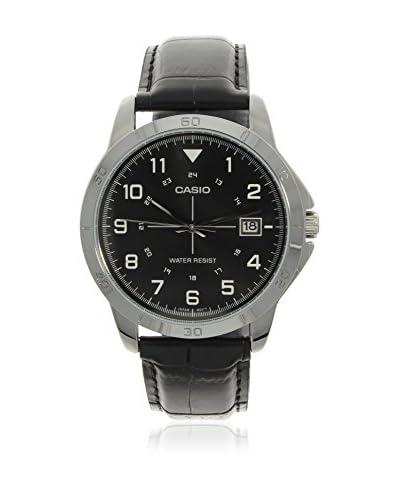 ZZ-Casio Reloj con movimiento japonés MTP+V008L.1B  42 mm
