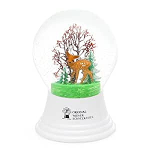 Globe ( Snow Globe ) 80mm Bambi and (D) tree [HD1496]: Toys & Games