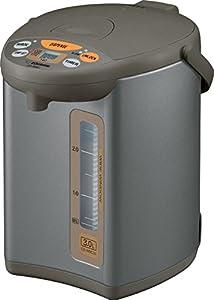 ZOJI CD-WBC30-TS Micom 3-Liter Water Boiler and Warmer, Silver Brown
