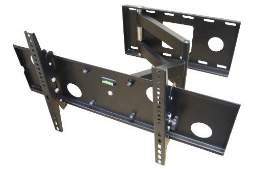 mount it apsamb 37 60 lcd tv wall mount bracket with full motion swing out tilt swivel. Black Bedroom Furniture Sets. Home Design Ideas