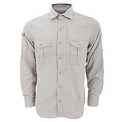 Craghoppers Mens Nosilife Lightweight Long Sleeved Casual Shirt