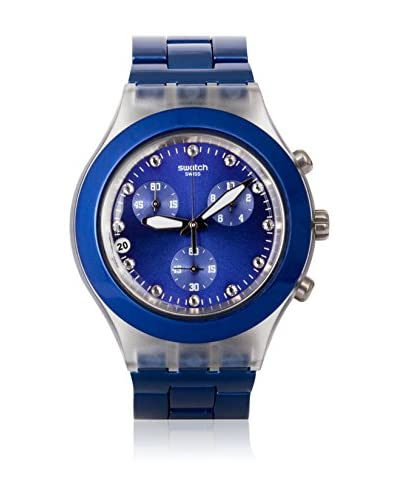 Swatch Reloj de cuarzo Unisex Unisex FULL-BLOODED NAVY SVCK4055AG 43.0 mm
