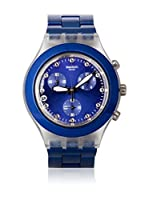 Swatch Reloj de cuarzo Unisex FULL-BLOODED NAVY SVCK4055AG 43 mm