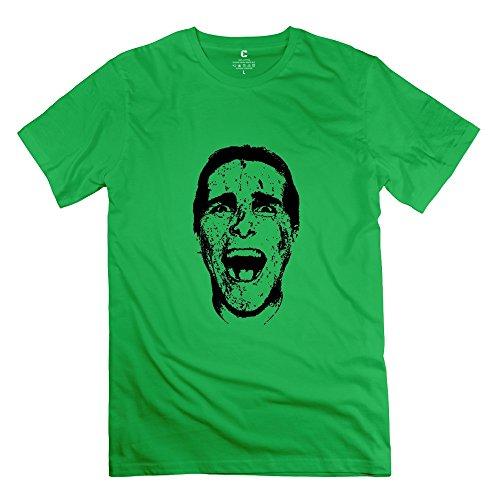 Patrick Bateman Boys T-Shirt,Forestgreen 100% Cotton T-Shirt Size Xxl