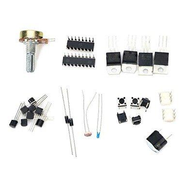 Zcl Zndiy-Bry Z-099 Workshop Component Basic Pack Set For Arduino - Black