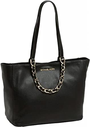 Michael Kors Large East West Harper in Black / Gold