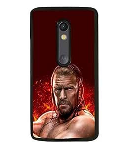 printtech WWE Edge Back Case Cover for Motorola Moto G Turbo Edition