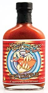 Crazy Mother Puckers Cayenne Concoction Hot Sauce by Crazy Mother Puckers