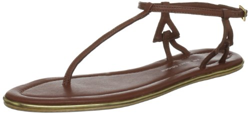 KG by Kurt Geiger Women's Milly Tan T Straps 2813833109 5 UK