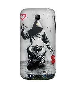 Love Over Money Samsung Galaxy S4 Mini Case