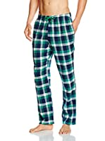 KINANIT Pantalón de Pijama (Verde / Azul)
