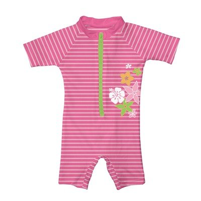 play Unisex baby Infant Stripe Sunsuit