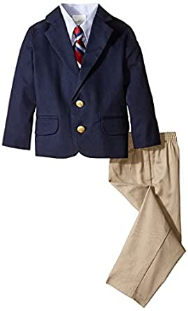 Izod Little Boys 39 Solid Twill Duo Set Clothing