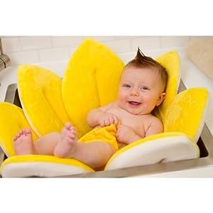 fleur de bain transat baignoire bebe 4 couleurs jaune. Black Bedroom Furniture Sets. Home Design Ideas