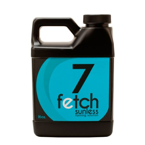 Fetch Sunless Spray Indoor Tanning Airbrush Solution 7% Dha Dark Formula 16Oz front-958390