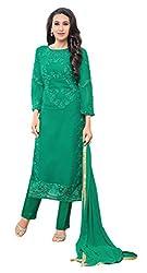 Mahaveer Fashion Women's Dress Material (8312_30_66011_Green_Free Size)