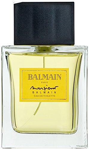 Parfums Balmain, Monsieur, Eau de Toilette da uomo con vaporizzatore, 100 ml