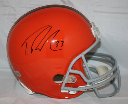 TRENT RICHARDSON CLEVELAND BROWNS AUTOGRAPHED REPLICA HELMET at Amazon.com