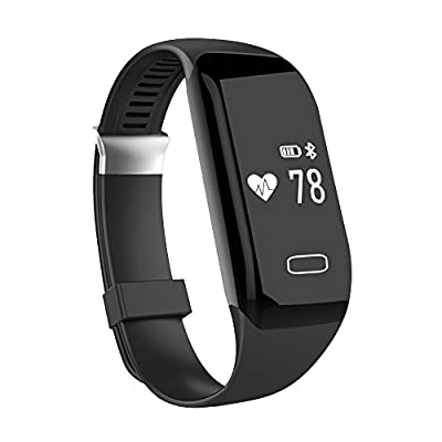 Fitness Tracker with Heart Rate Monitor, Morefit H3 Waterproof Smart Watch HR Wireless Activity Wristband by moreFit