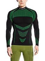 Spaio Camiseta Técnica Thermo (Negro / Verde)