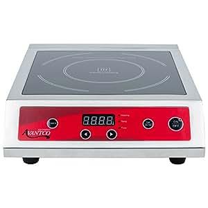 Countertop Stove Amazon : Amazon.com: Avantco IC3500 Countertop Induction Range / Cooker - 208 ...