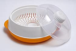 Trust Microwave Steamer Orange