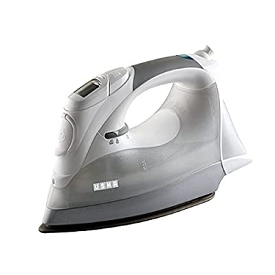 Usha Techne 3000 2200-Watt Steam Iron (White and Grey)