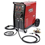 Lincoln Electric Power MIG 256 Wire-Feed Welder 300 Amps, Model# K3068-1 (Color: Red/Black, Tamaño: 31 4/5