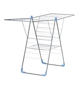 Moerman Laundry Solutions Y-Airer Indoor Folding Clothes Drying Rack (Up to 79 Feet Of Drying Space)