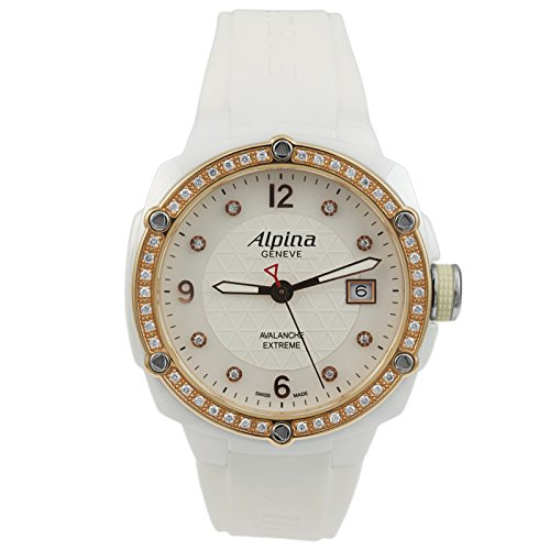 Alpina Extreme Lady Ceramic Mother of Pearl Diamonds Women's Watch AL-240MPWD3AEDC4