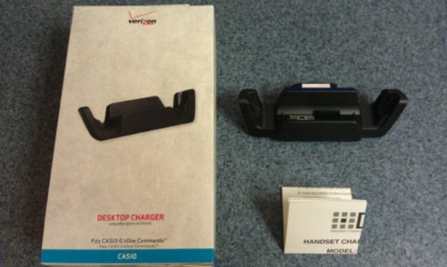 New Oem Casio C771 G'Zone Commando Desktop Charger Cradle By Verizon Wireless front-791229