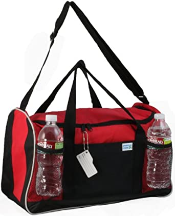 Ensign Peak Everyday Duffel Bag, Red