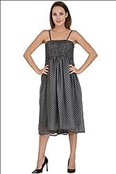 Selfiwear SW-648 Beautiful Dotted Dress