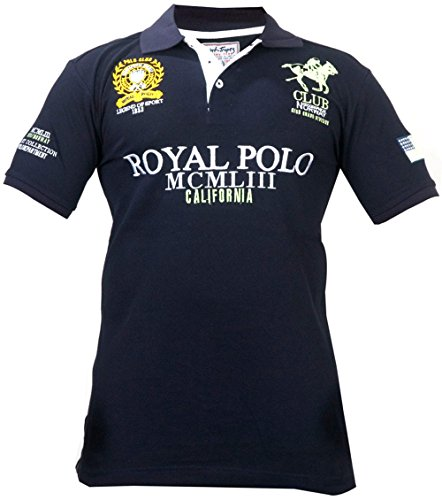 Geographical Norway -  Polo  - Maniche corte  - Uomo NAVY-1 Small