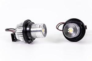 Seitronic® LED Angel Eyes- Standlicht, Xenon Weiss, für Corona Ringe
