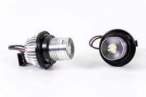 Seitronic LD-560 LED Angel Eyes Xenon Weiss
