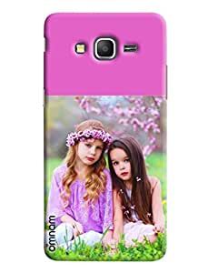 Omnam Two girls looking towards camera back cover for Samsung Galaxy Grand Prime