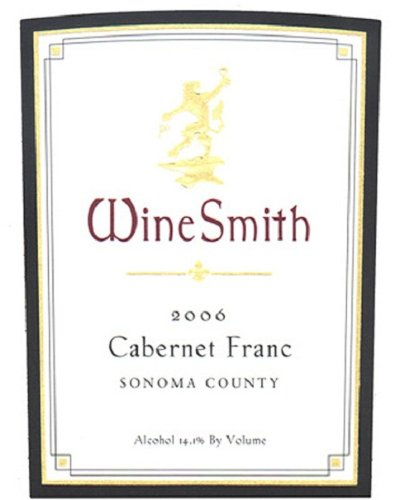 2006 Winesmith Sonoma County Cabernet Franc 750 Ml