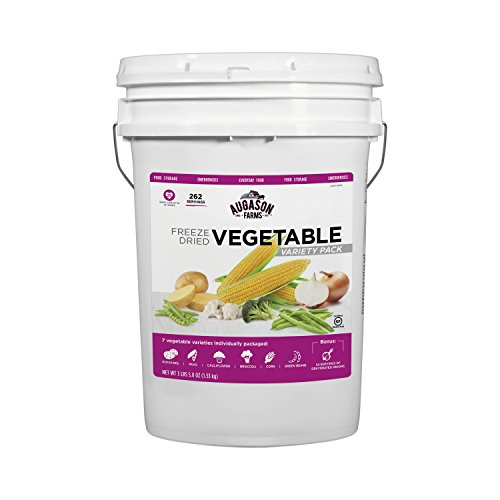 Augason Farms Freeze Dried Vegetable Variety Pail