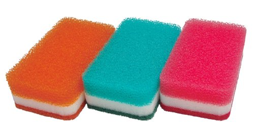 Duskin sponge 9 pieces (3 pieces set x 3 Pack)