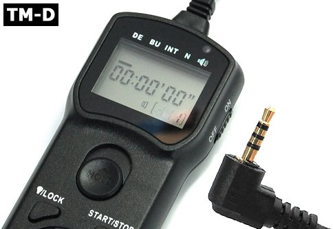 Gsi Super Quality Multi-Function Timer Remote Control Shutter For Panasonic Dmc-Fz30, Dmc-Fz20, Dmc-Fz50, Dmc-Fz30K, Dmc-Fz20K, Dmc-Fz50K, Dmc-Fz30S, Dmc-Fz20S, Dmc-Fz50S, Lc-1, L1, Digilux 2, Digilux 3 Cameras, Lcd Illuminated Screen, Exceeds The Panason