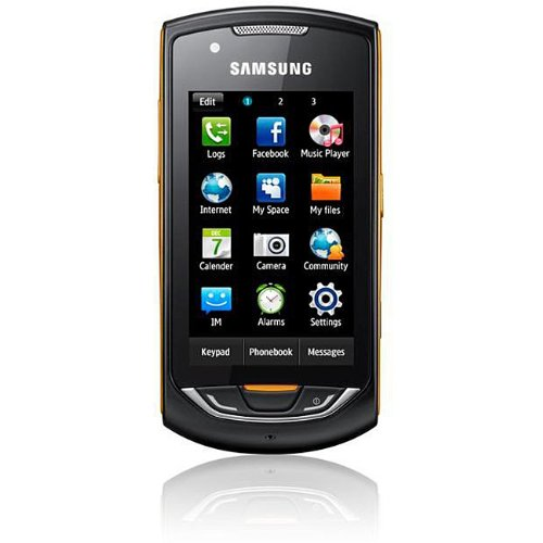 Samsung S5620 Black Monte Unlocked Quad-Band GSM Phone